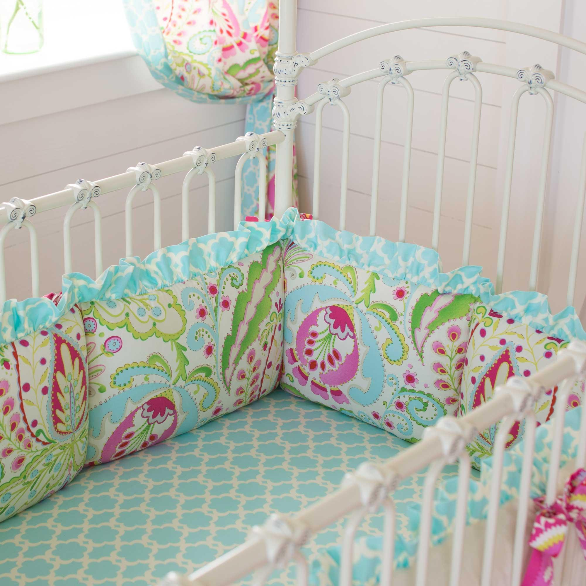Crib Bumper Pads | Bumper Pads for Baby Cribs | Safe Crib Bumpers