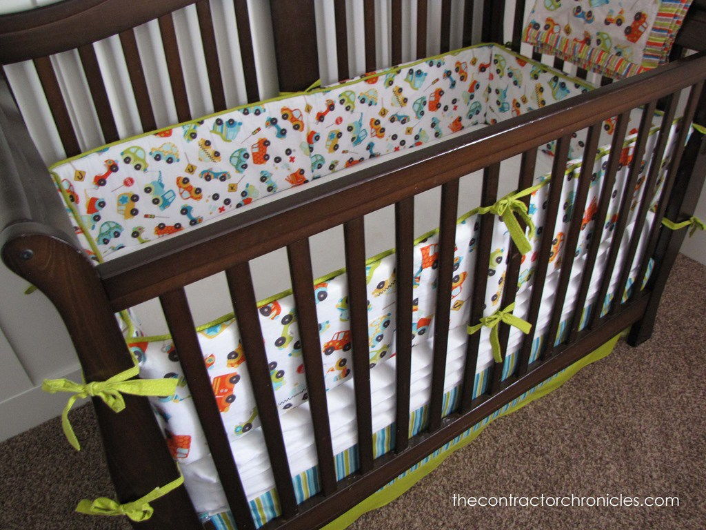 Crib Bumper Pads | How to Make Crib Bumper Pads | Porta Crib Bumper Pads