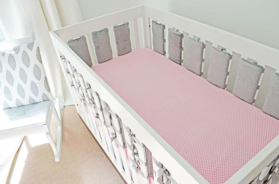 Crib Bumper Pads | Mesh Crib Bumper Safe | Kohls Baby Bedding
