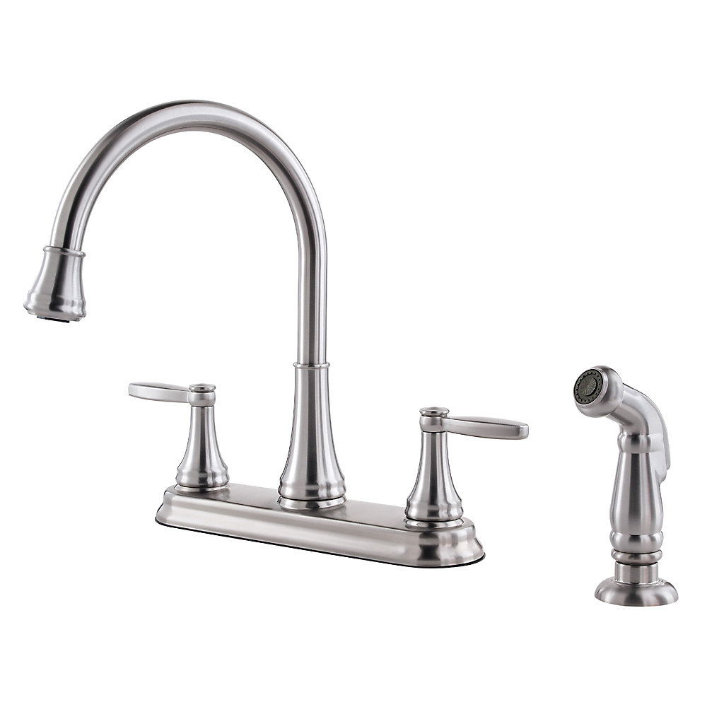 Delta Kitchen Faucet Repair | Giagni Fresco Stainless Steel 1 Handle Pull Down Kitchen Faucet | Kitchen Faucets