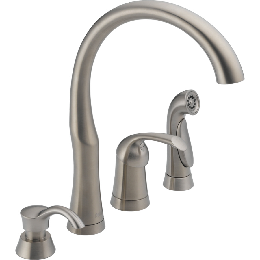 Delta 2 Handle Kitchen Faucets 100  Moen Kitchen Faucet Parts   Kitchen Faucets Lowes Delta