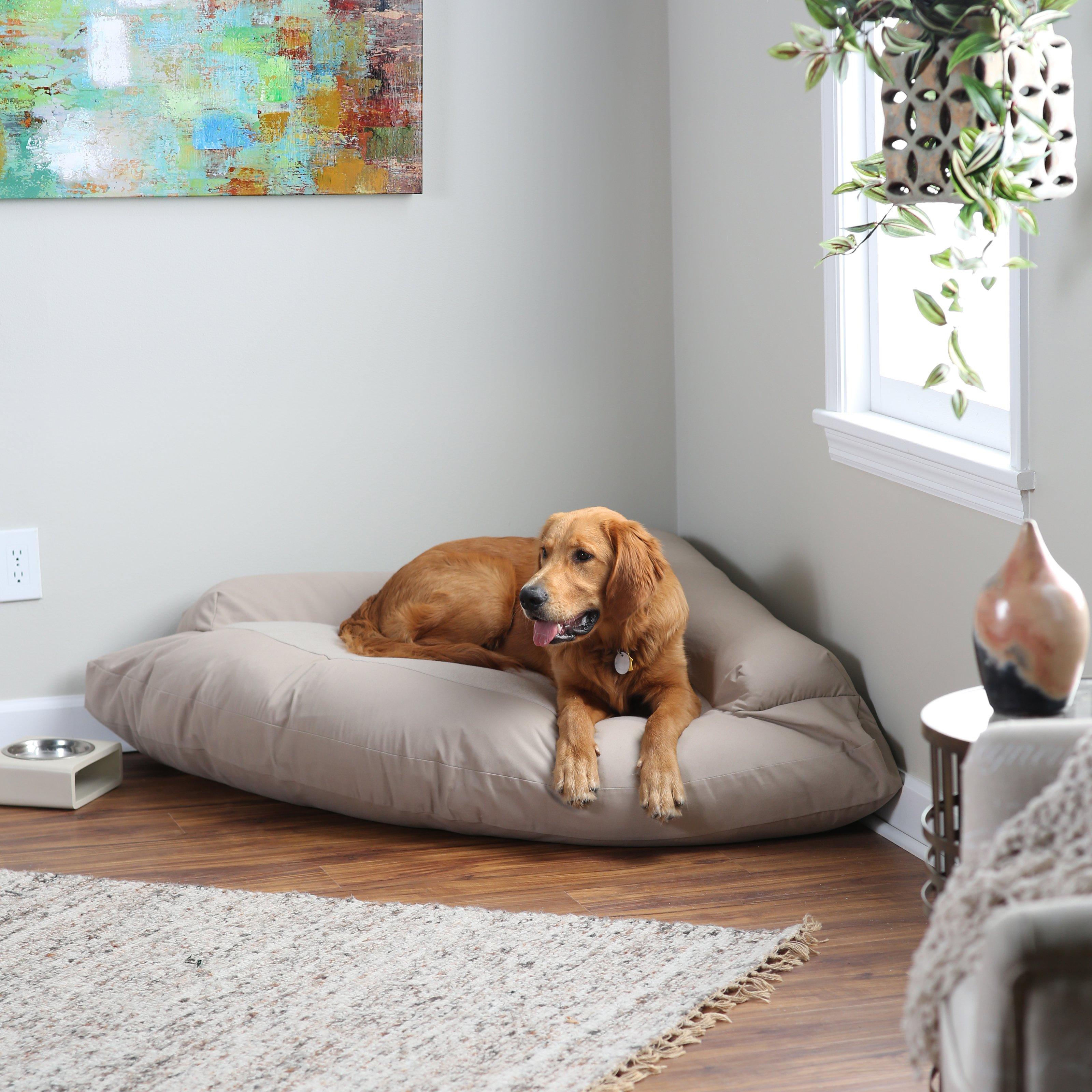 Dog Bed for Crate | Most Durable Dog Toys | Chew Proof Dog Bed