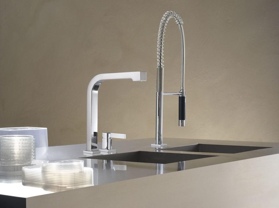 Dornbracht Wall Mounted Faucet | Dornbracht Kitchen Faucet | Dornbracht Sink