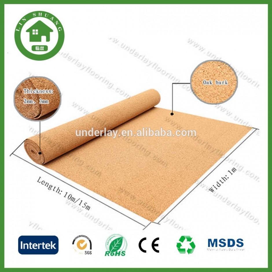 Eco Felt Underlayment   Cork Underlayment   Natural Cork Underlayment