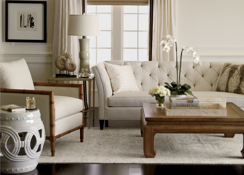 Ethan Allen Leather Furniture | Floral Couches | Ethan Allen Recliners