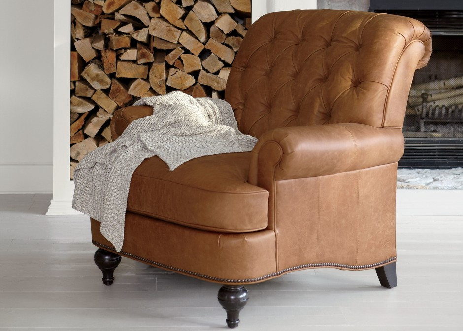 Ethan Allen Recliners | Reclining Leather Chair | Ethan Allen Leather Recliner
