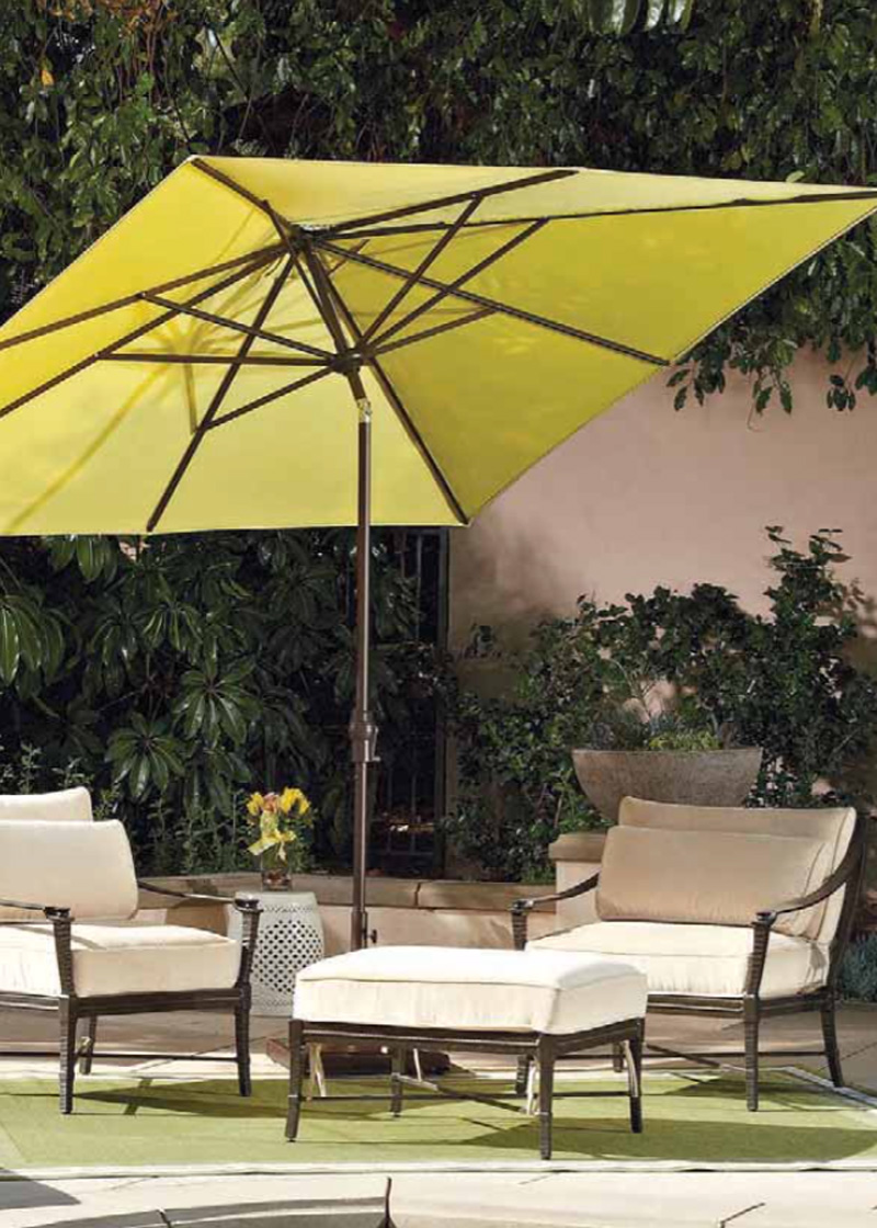 Extra Large Umbrella | Patio Umbrellas Lowes | Garden Treasures Offset Umbrella