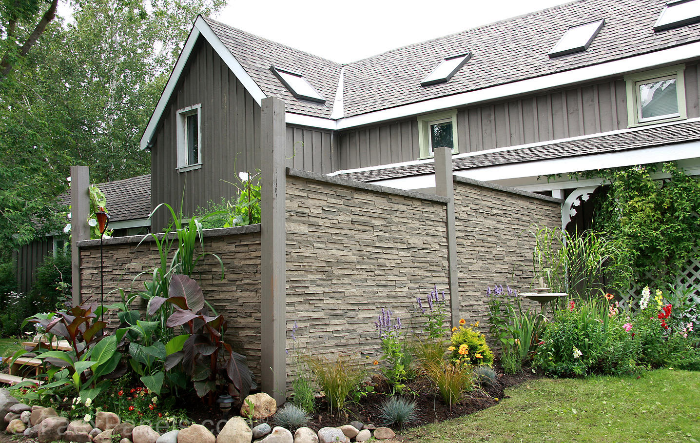 Fake Brick Wall | Fake Stone Siding | Home Depot Brick Wall Panel