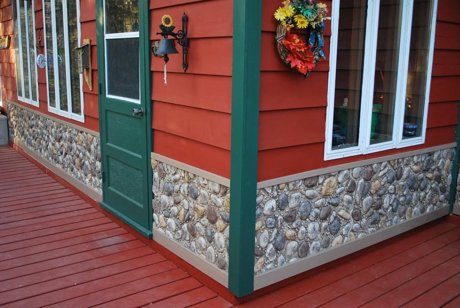 Fake Stone Siding   Lowes Building Supplies   Mobile Home Siding Ideas
