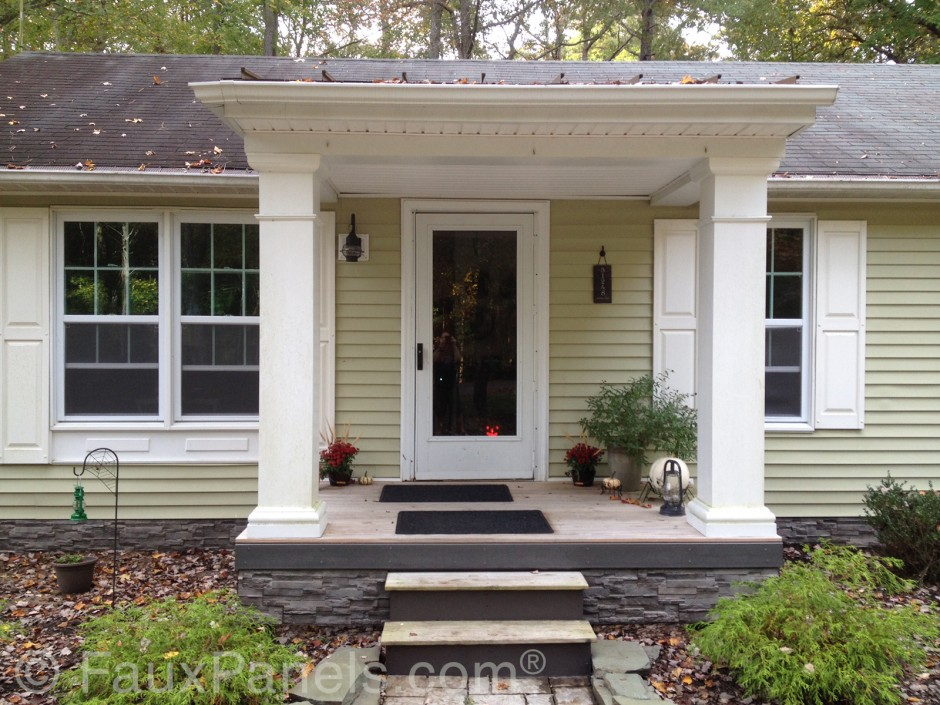 Exterior Stone Siding Prices Stone Siding Cost Crafts Home