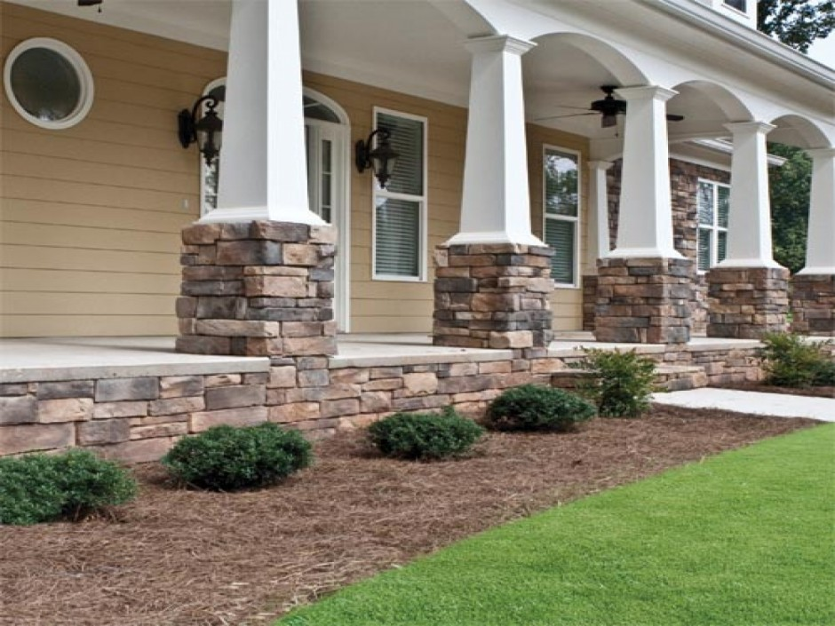 Fake Stone Siding | Manufactured Stone Veneer | Fake Brick