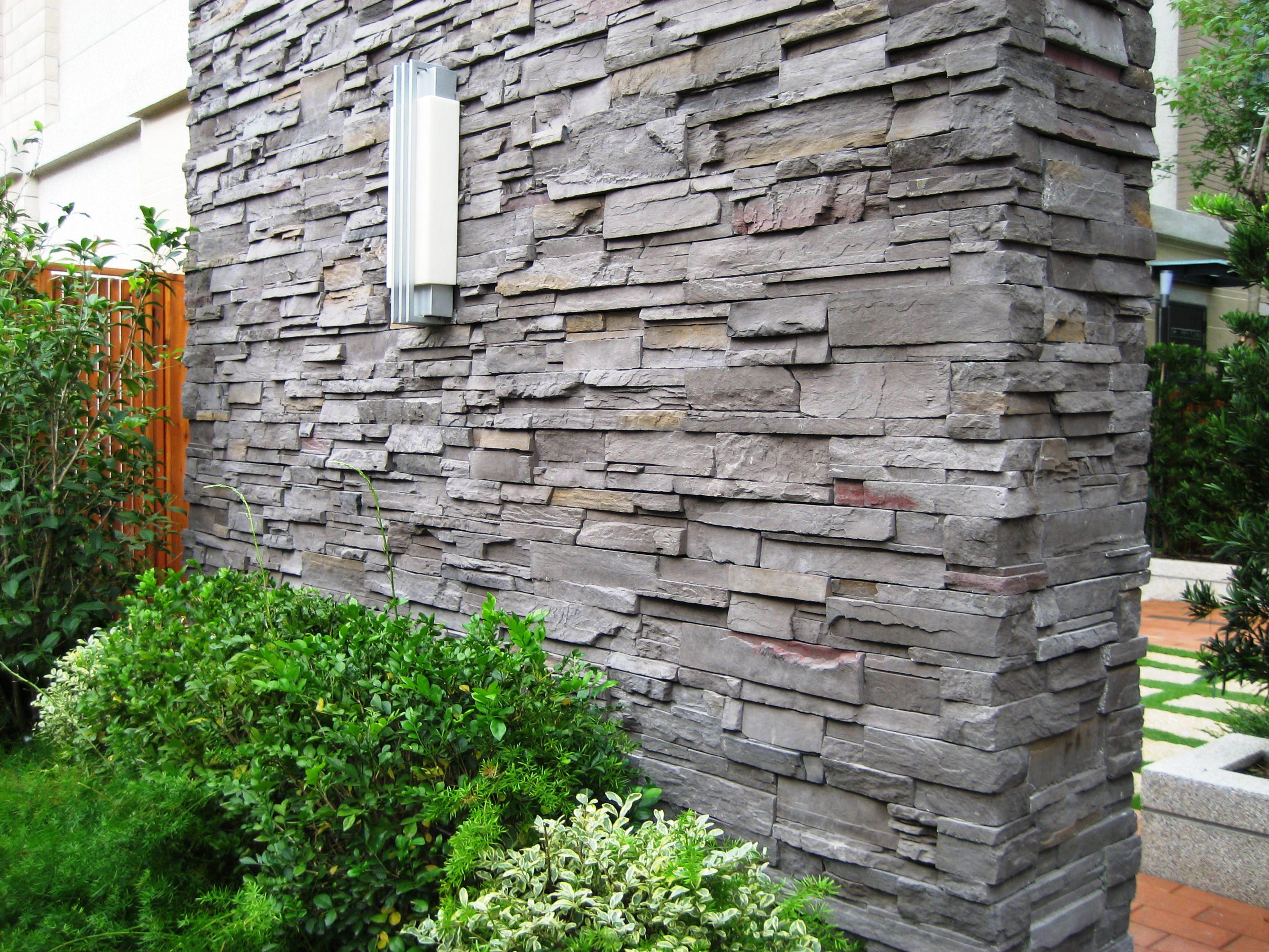Faux Rocks Home Depot | Stone Paneling | Fake Stone Siding