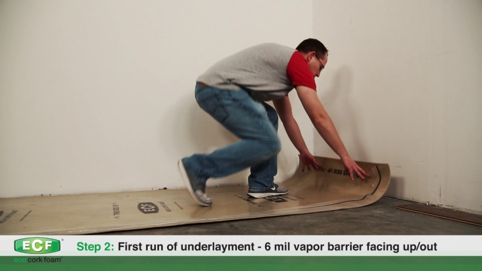 Floating Floor Underlayment Reviews | Cork Underlayment | Sound Solution Underlayment
