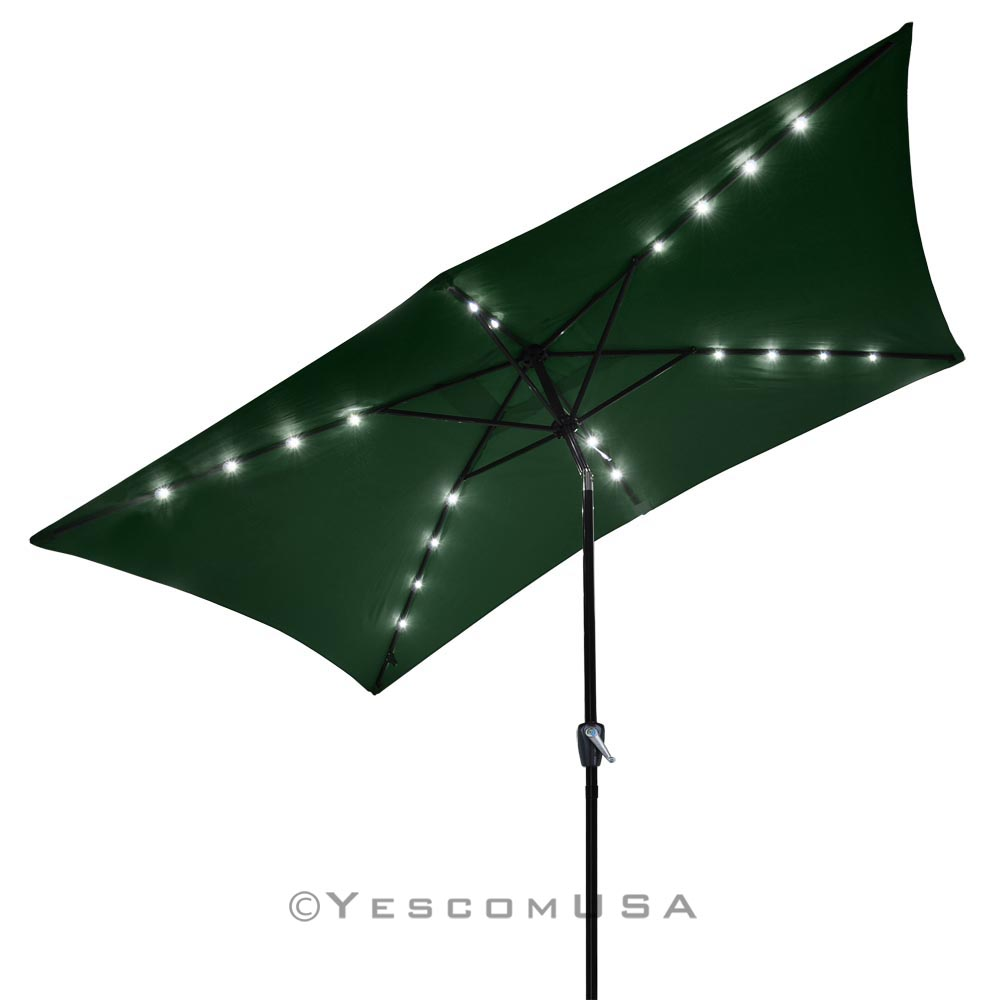 Free Standing Umbrella | Garden Treasures Offset Umbrella | Colorful Patio Umbrellas