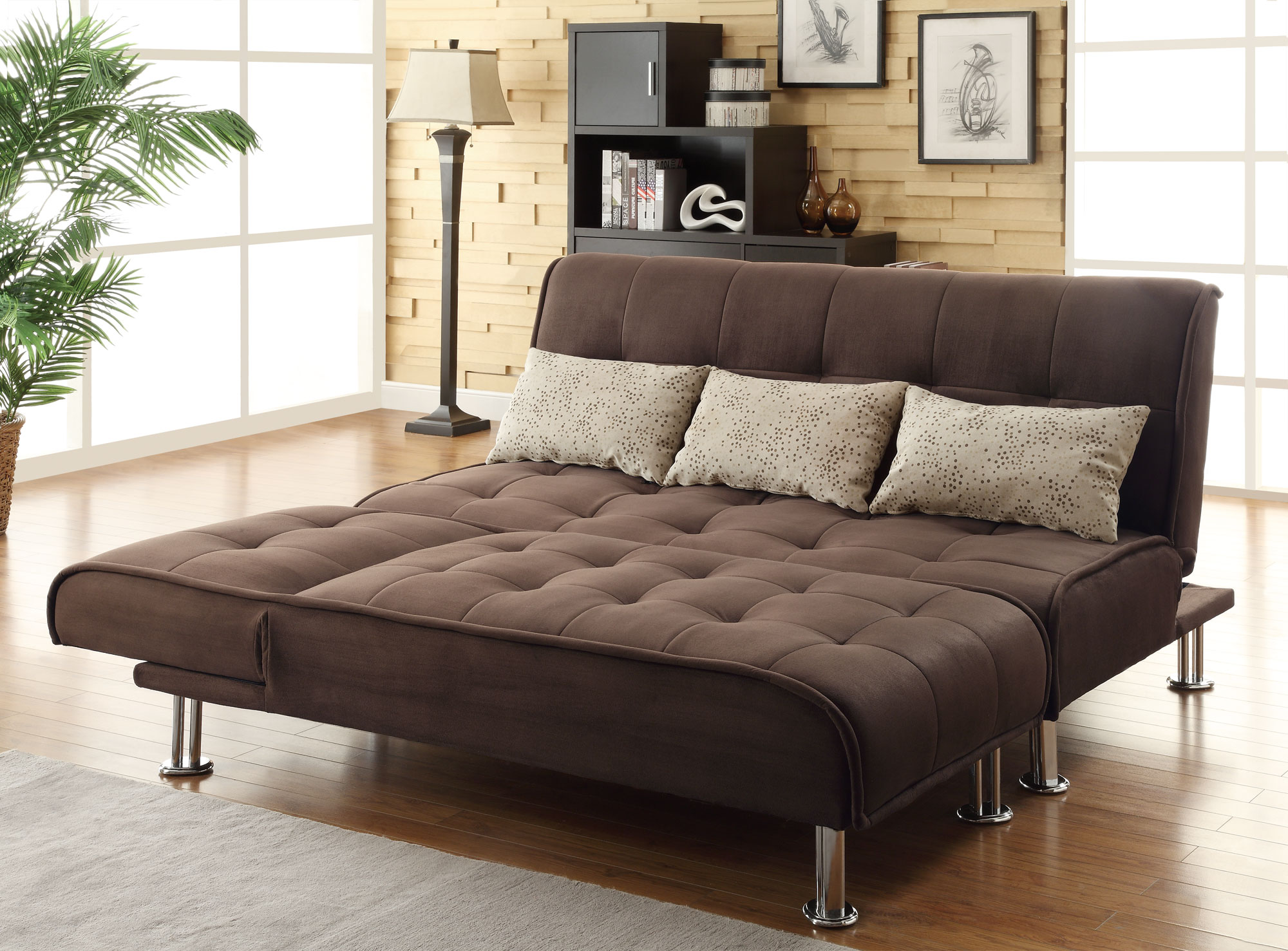 Furniture & Rug Foldable Couch Moheda Sofa Bed