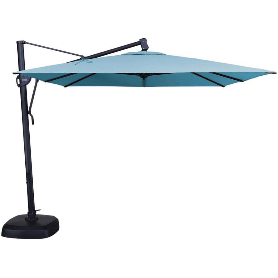 Garden Treasures Offset Umbrella | Garden Treasures Umbrella | Deck Umbrella  Walmart