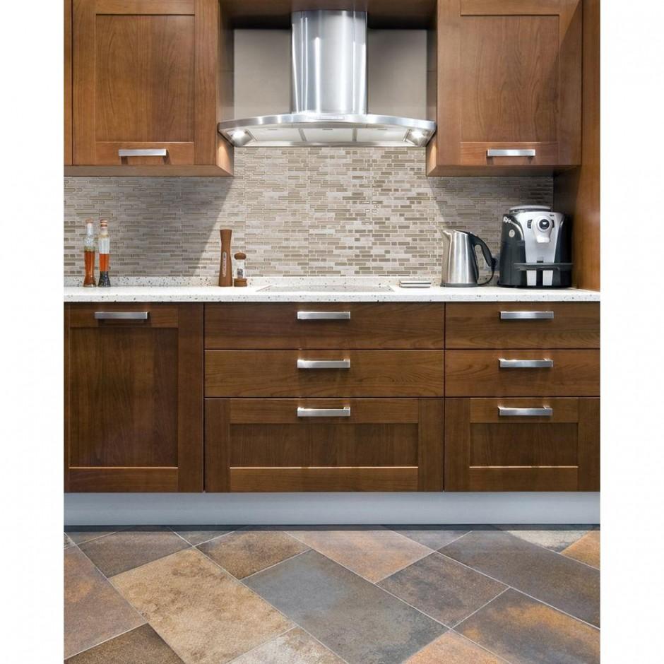 Glass Tile Kitchen Backsplash | Peel And Stick Tile | Peel And Stick Backsplash Tiles