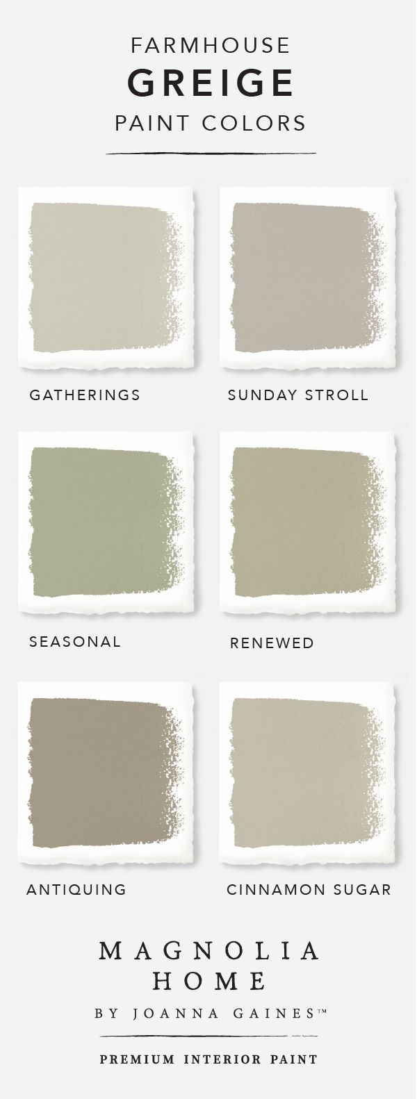 Greige Paint | Benjamin Moore Grays | Paint Color Greige