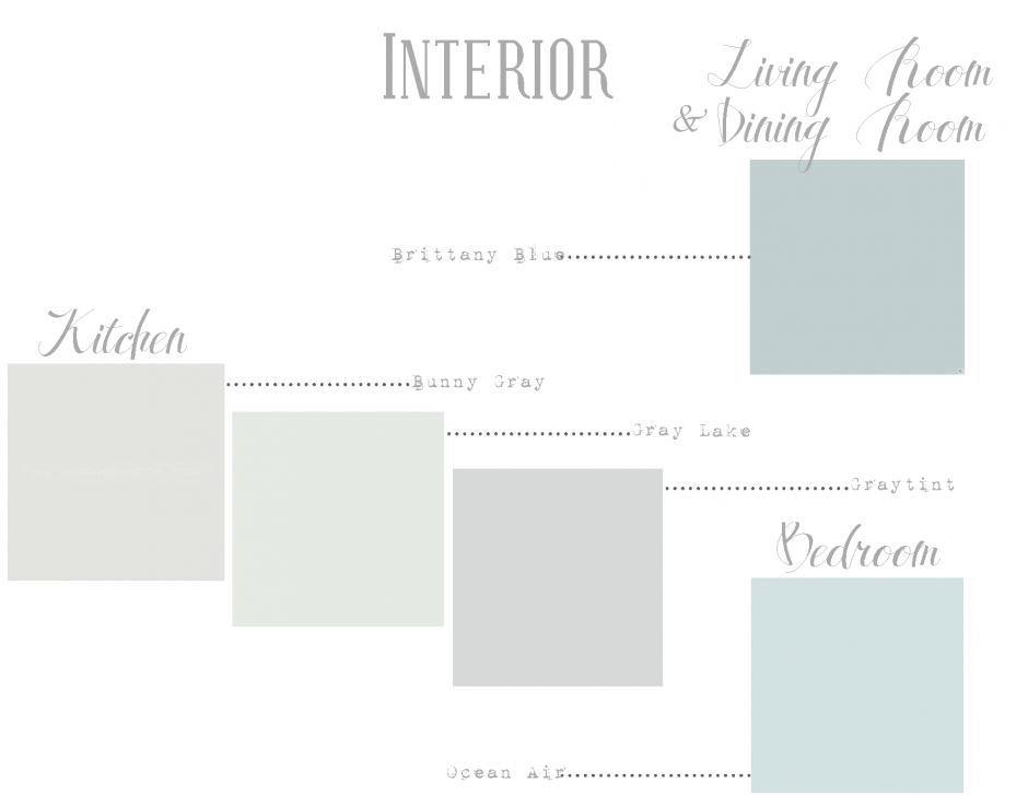 Greige Paint | Sherwin Williams Collonade Gray | Light Paint Colors