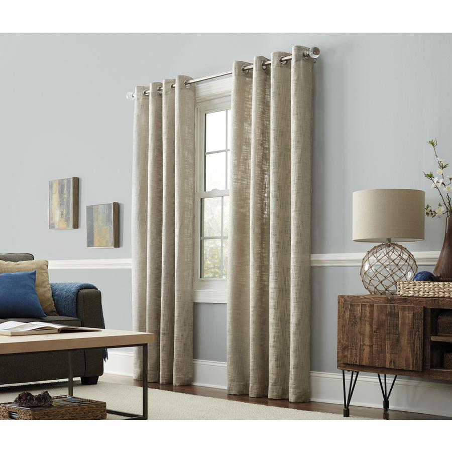 blind & curtain: grommet curtains | kohls drapes | curtain rods kohls