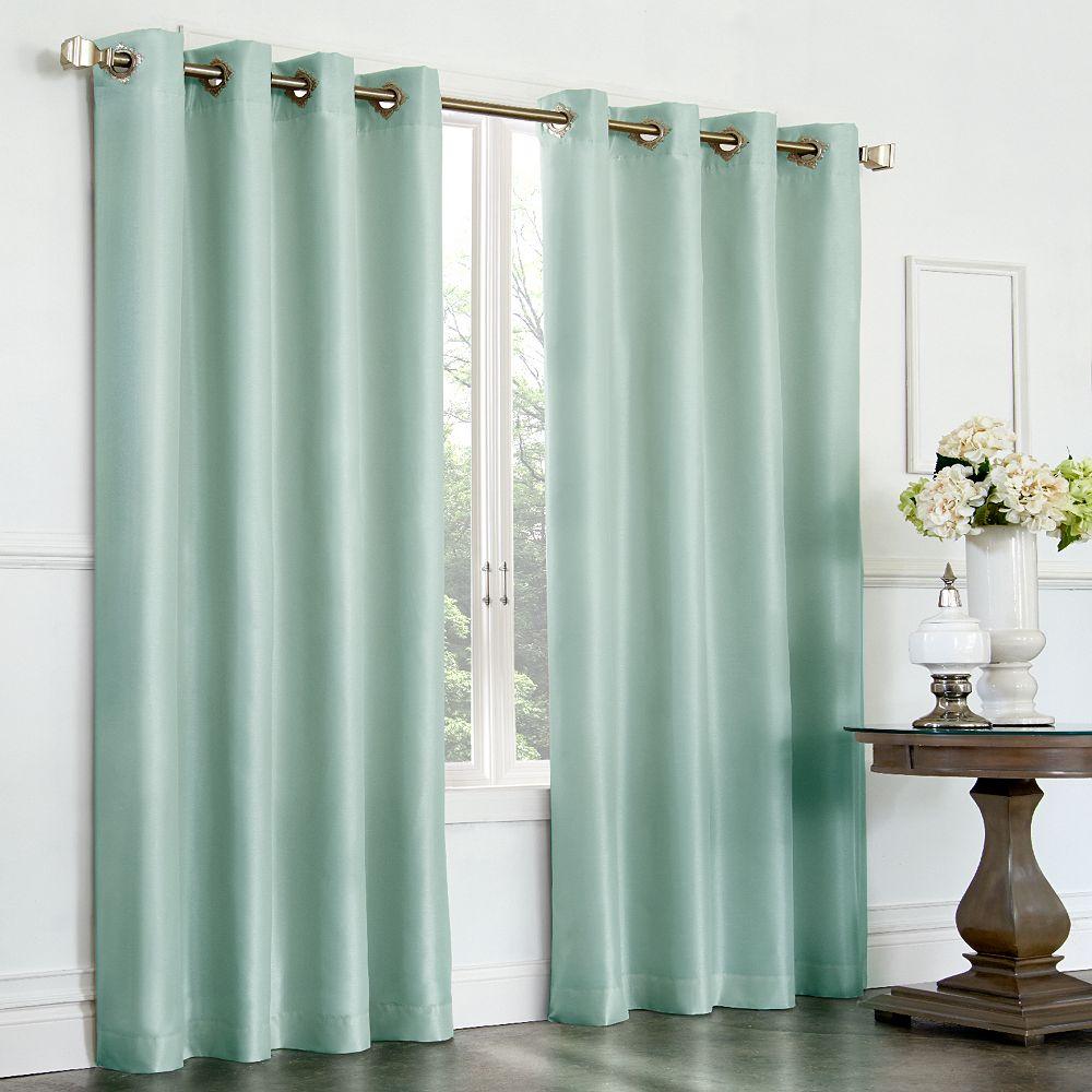Grommet Drapes | Peach Curtains | Kohls Drapes