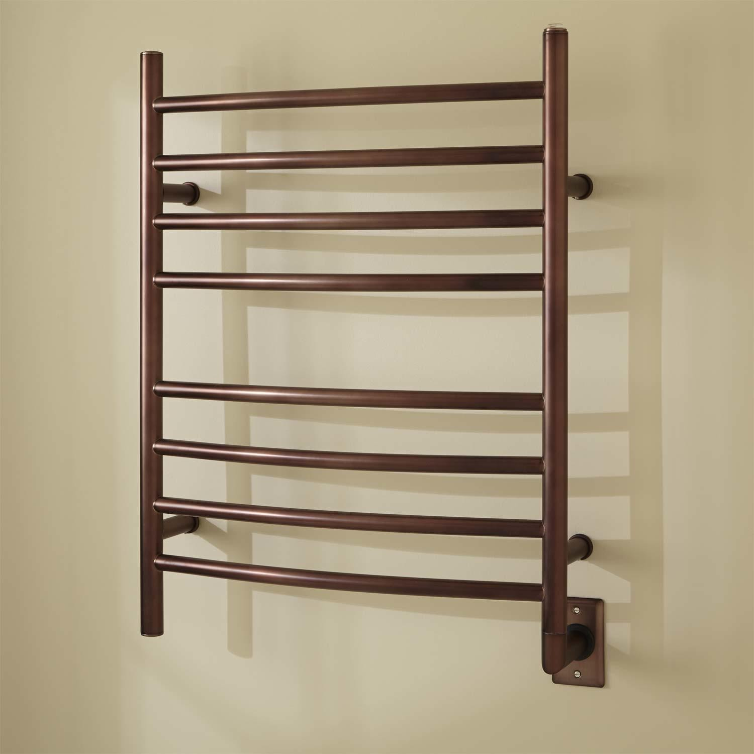 Heated Towel Warmer Rack | Wall Mounted Towel Warmer | Amba Towel Warmers