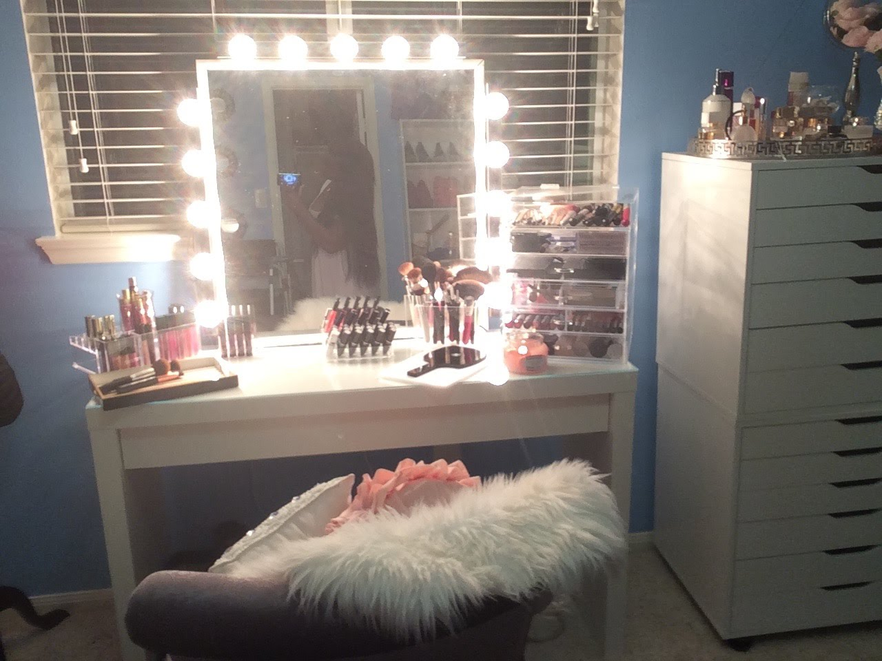 Hollywood Vanity Mirror With Lights | Lighted Makeup Vanity | Makeup Vanity Table With Lighted Mirror