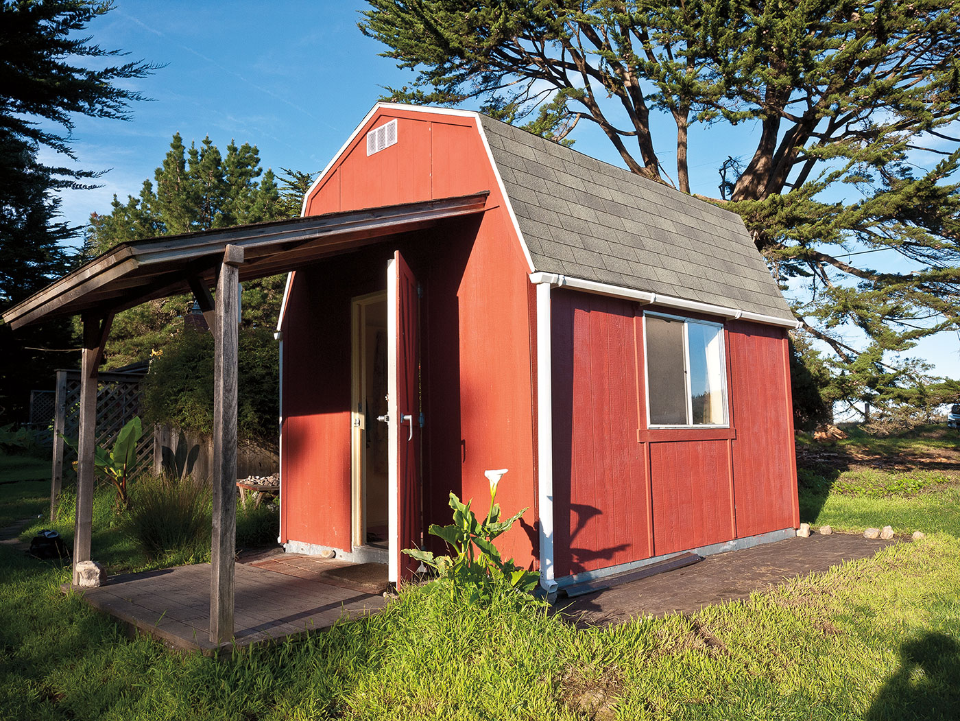 Storage sheds for sale at lowes rustic garden outdoor for Sheds with porches for sale
