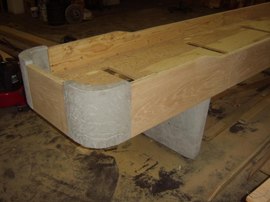 How To Build A Shuffleboard Table   Shuffleboard Table Sizes   Shuffleboard Table