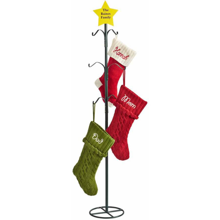 Initial Stockings | Disposable Christmas Tree Bags | Stocking Holders