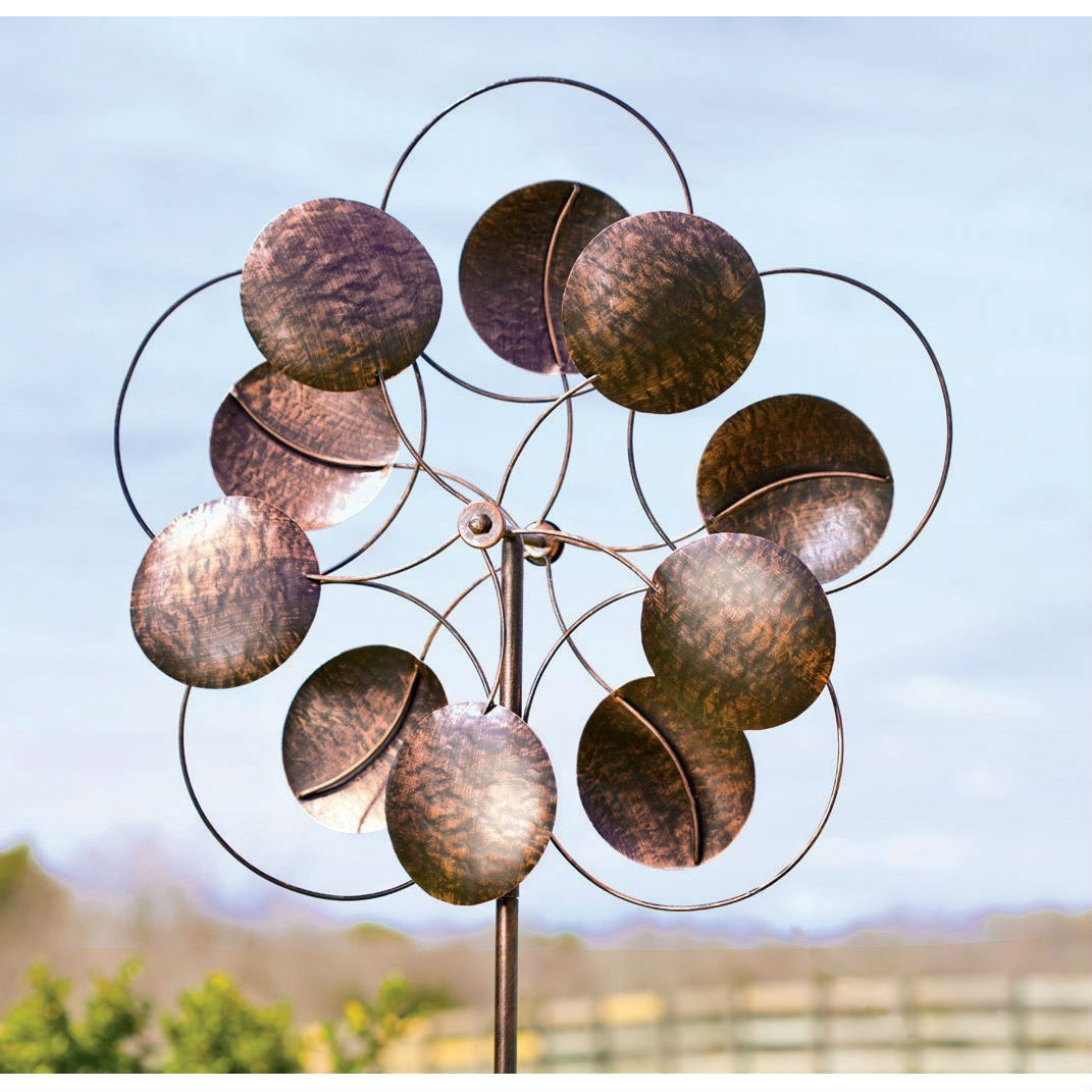 Kinetic Wind Sculptures | Wind Spinners | Double Wind Spinner