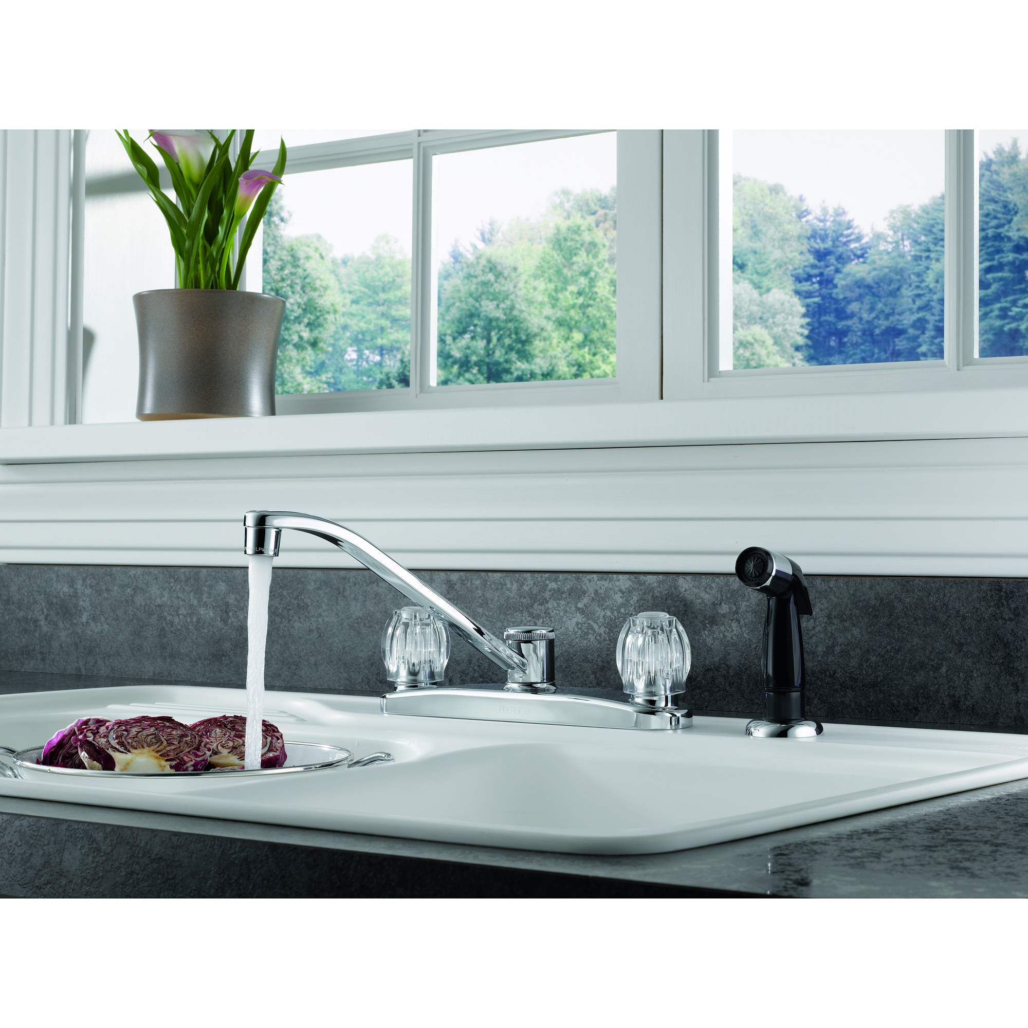 size hole kitchen faucet sink lowes sinks with bathroom full faucets vanity dispenser of depot menards vessel soap at combo and surprising home sets walmart cheap