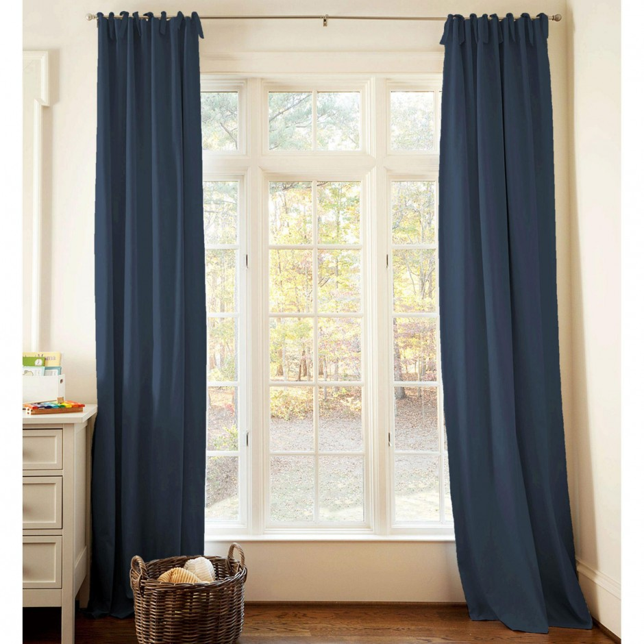 Kohls Drapes | Coral Blackout Curtains | Room Darkening Drapes
