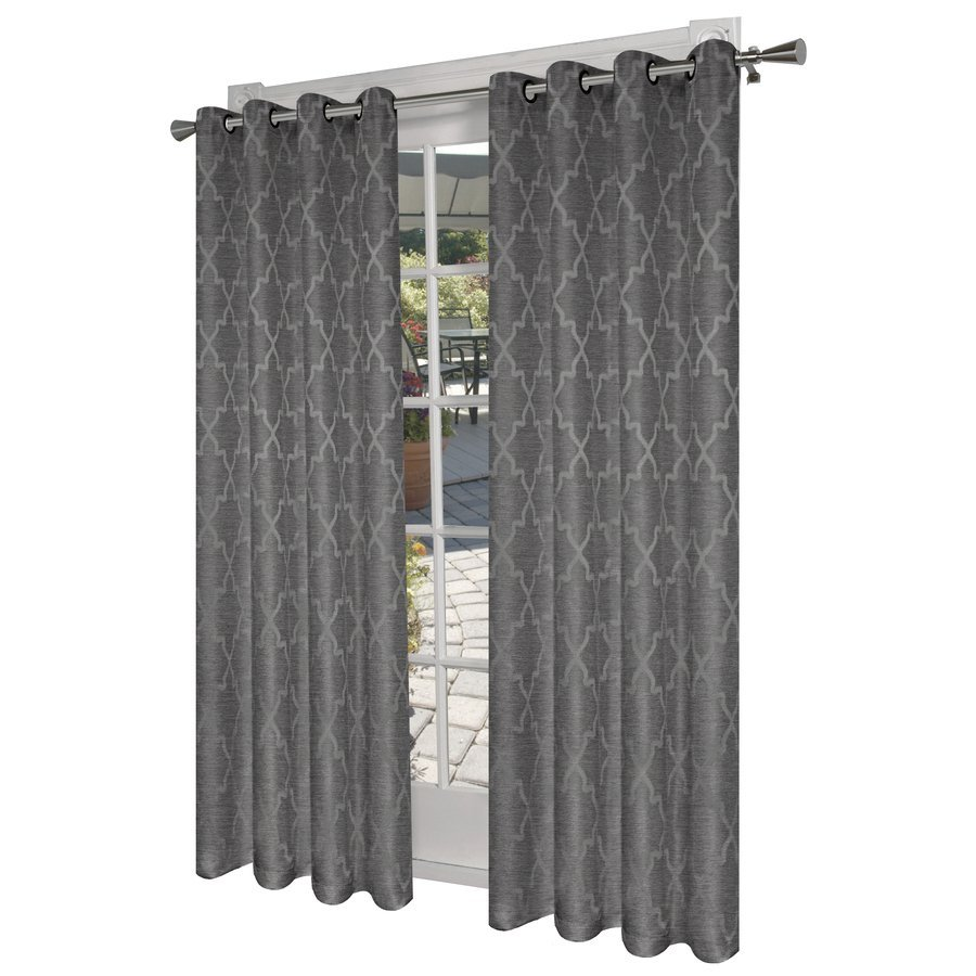 Kohls Drapes | Hillcrest Curtains | Tan And Grey Curtains