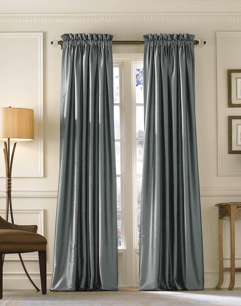 Kohls Drapes | White Blackout Drapes | 54 Inch Curtains
