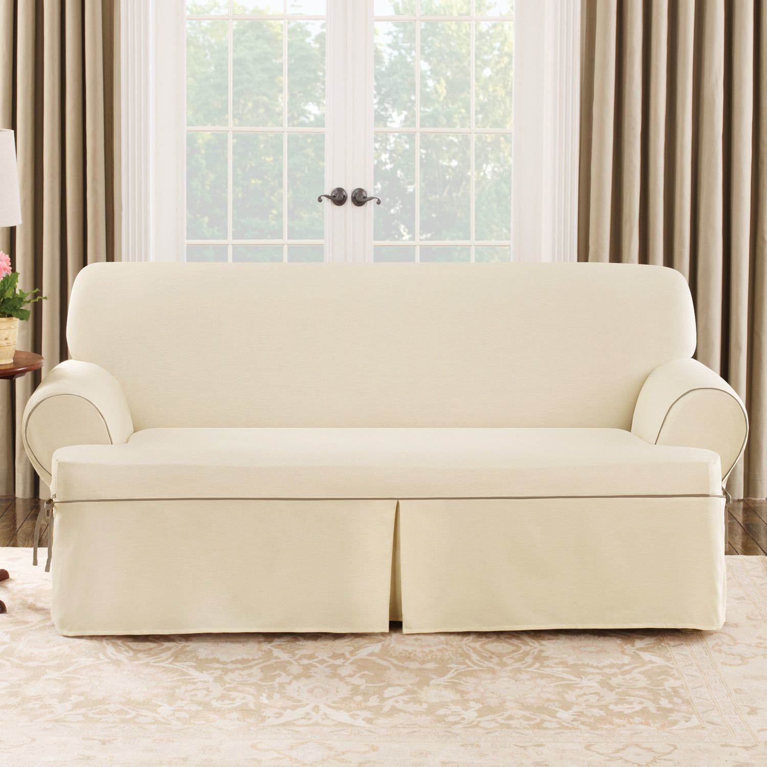 Linen Couch Slipcovers | Recliner Covers | Couch Slipcovers