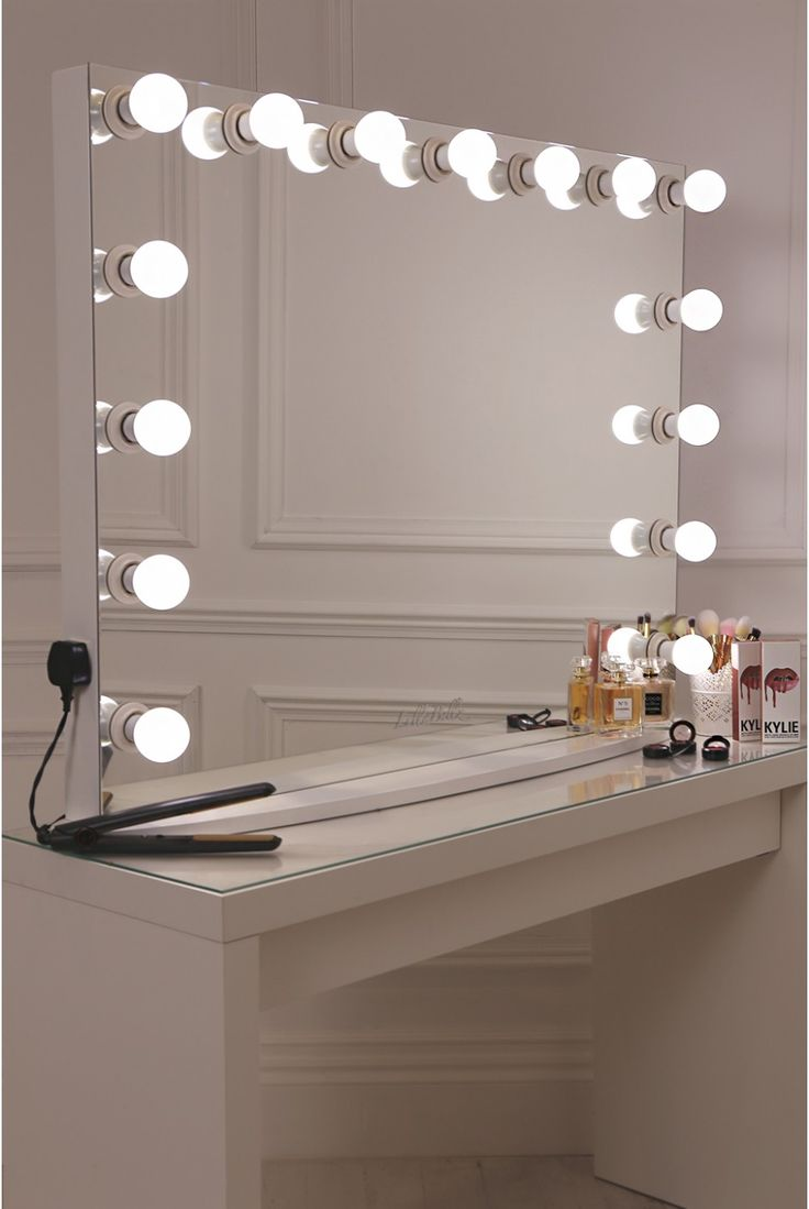Makeup Vanities with Lights | Makeup Vanity Table with Lighted Mirror | Makeup Vanities for Sale