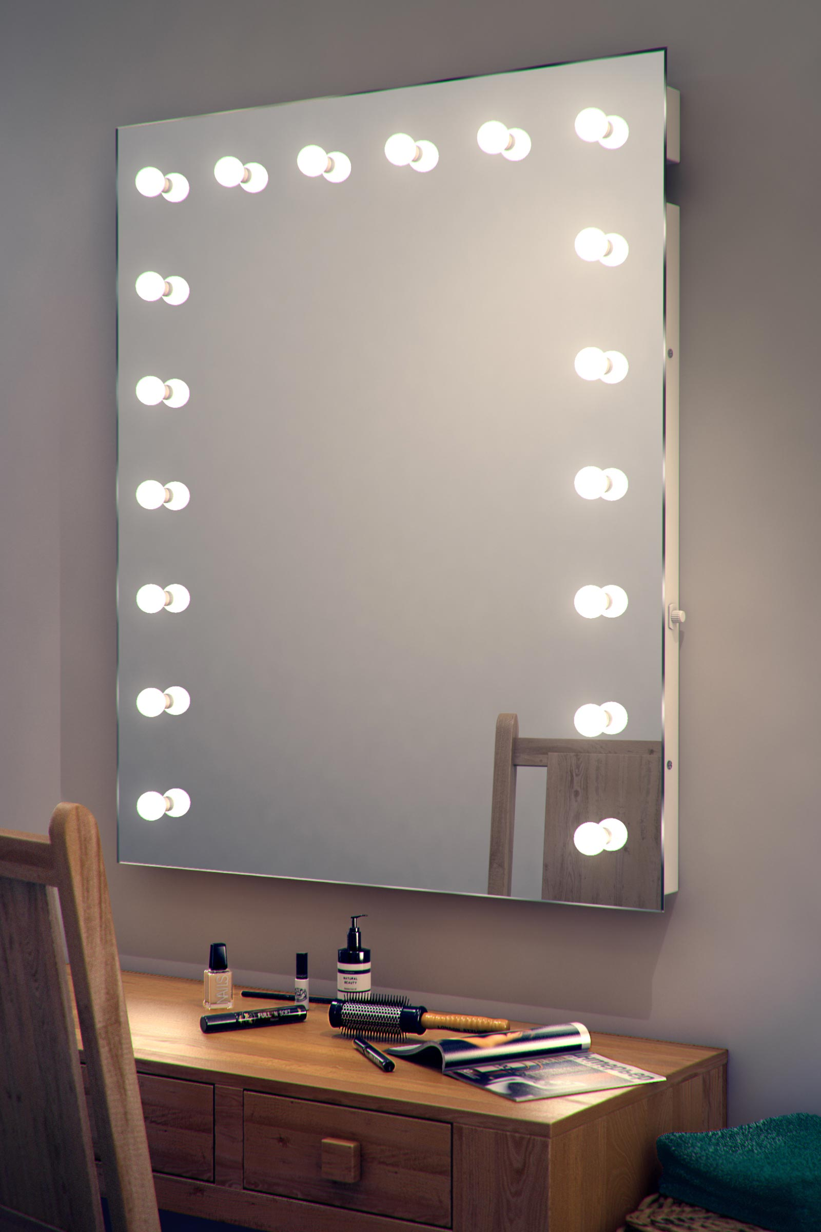 Makeup Vanity Table with Lighted Mirror | Makeup Table Ikea | Makeup Vanity Lights