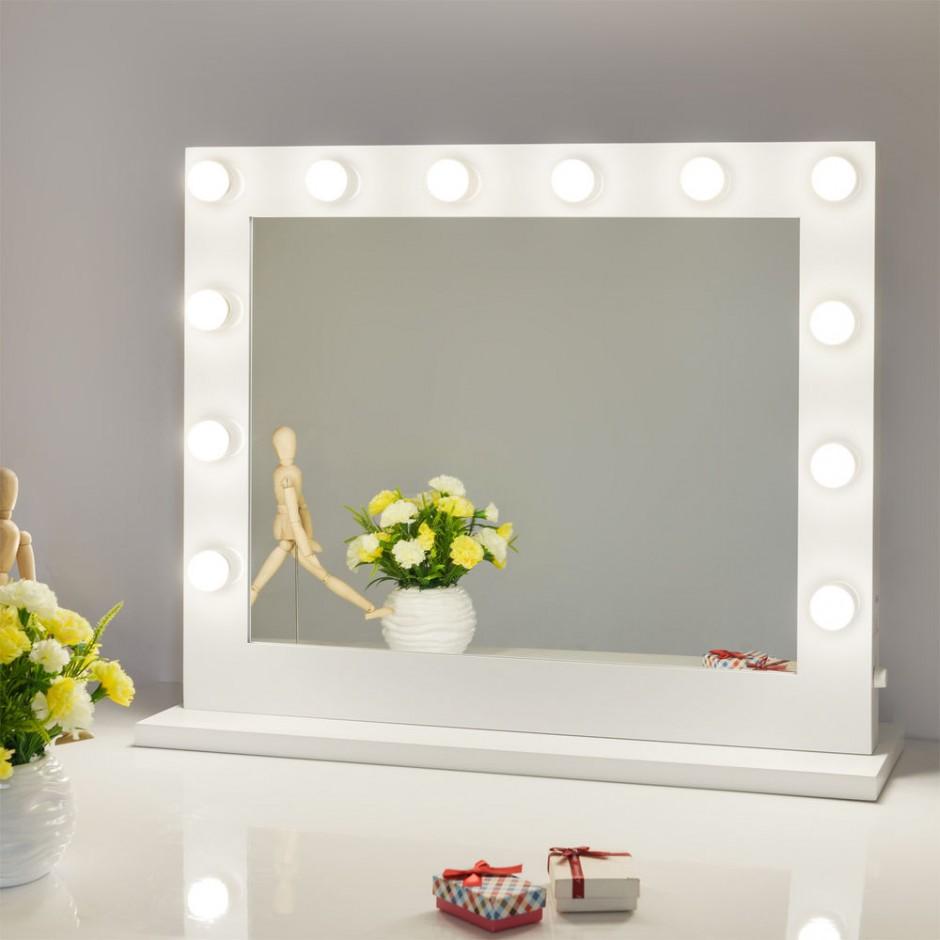 Makeup Vanity Table With Lights | Vanity Stool Ikea | Makeup Vanity Table With Lighted Mirror