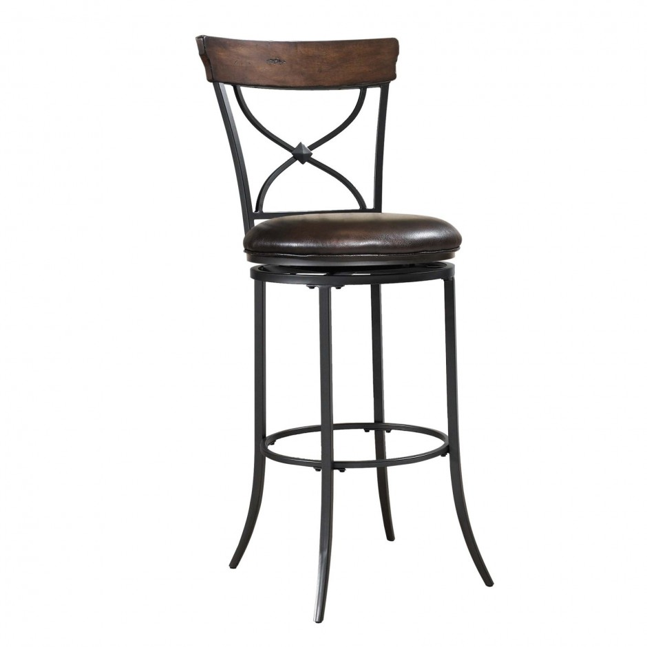 Metal Bar Stools | Seagrass Bar Stools | Round Back Bar Stools