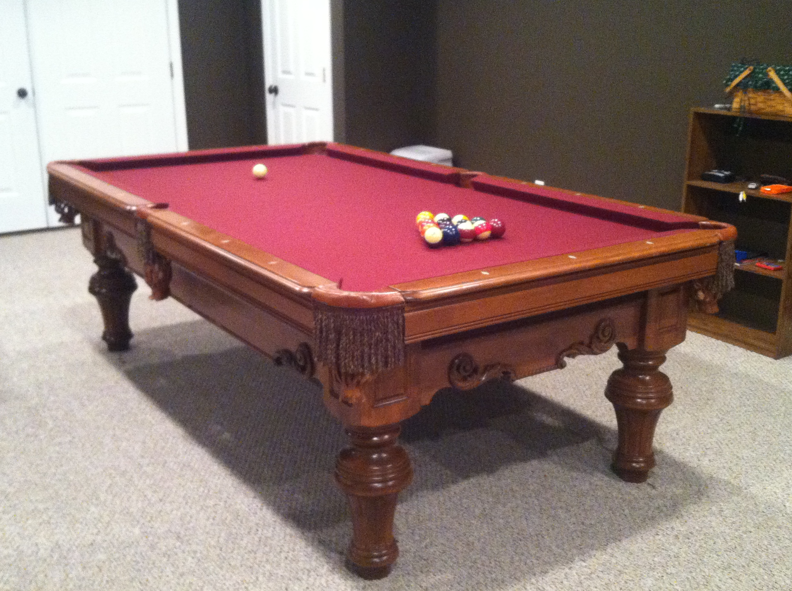 Mizerak Pool Table 6ft For Replacement Parts 6 Foot Slate
