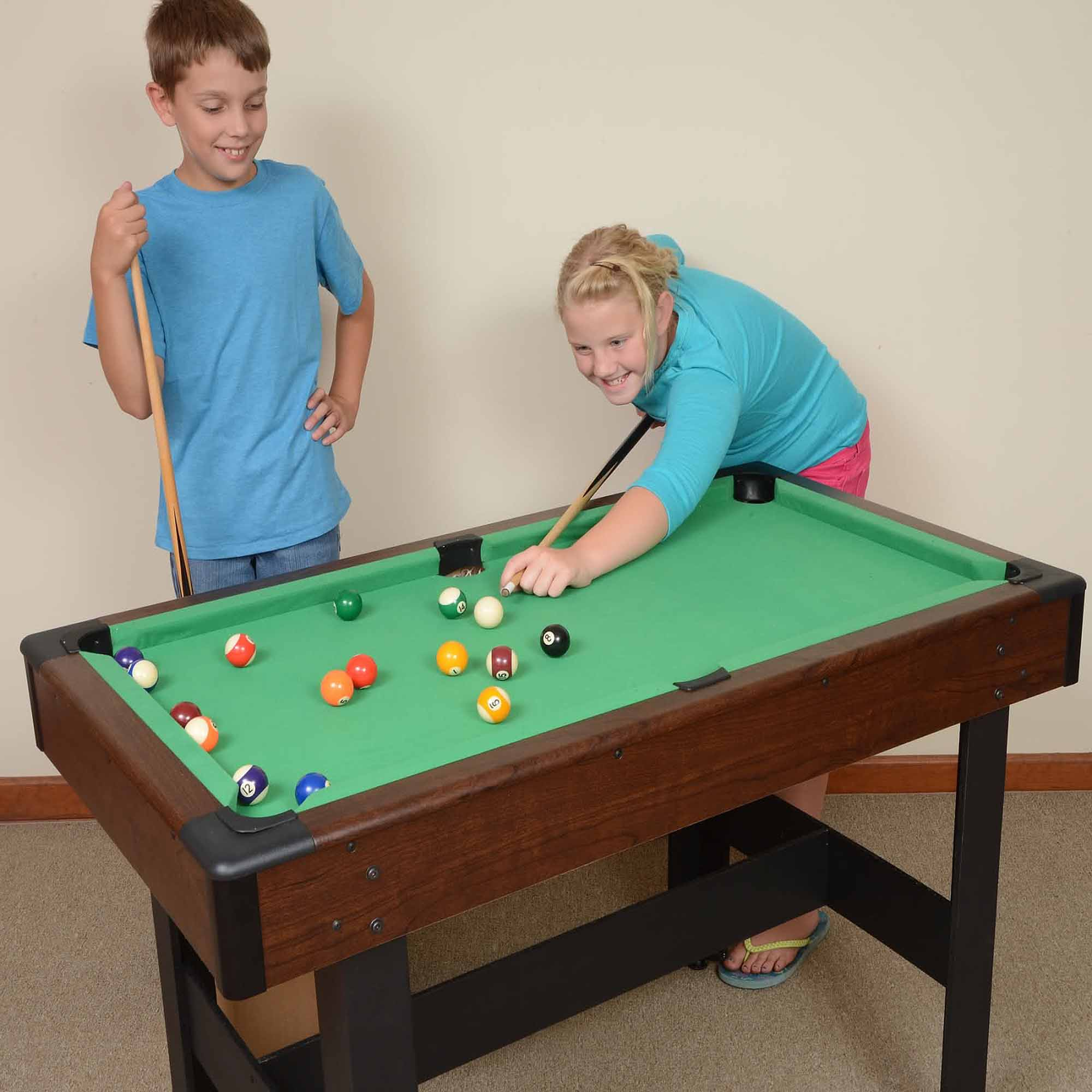Mizerak Pool Table | Walmart Pool Tables | Space Saver Table