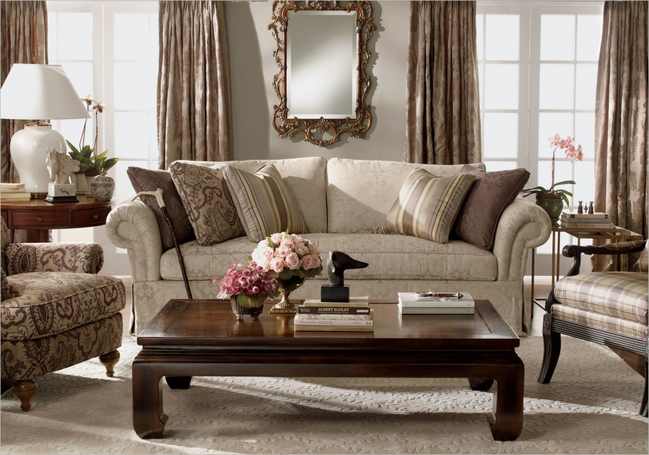 Most Durable Couches   Ethan Allen Slipcovers   Slipcovered Sofa