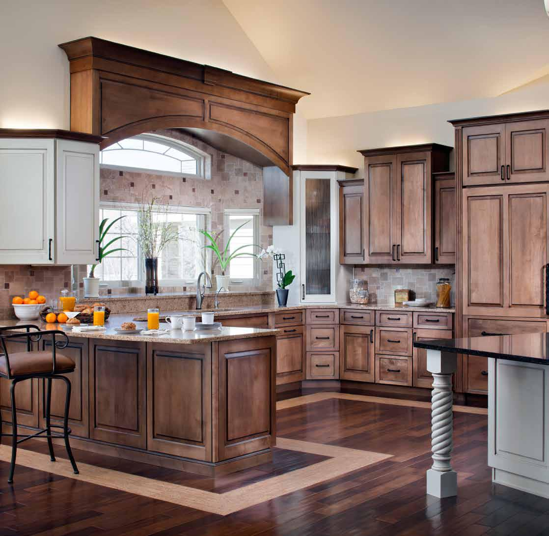 Norcraft Cabinets | Kitchen Cabinet Catalogue | Midcontinent Cabinetry