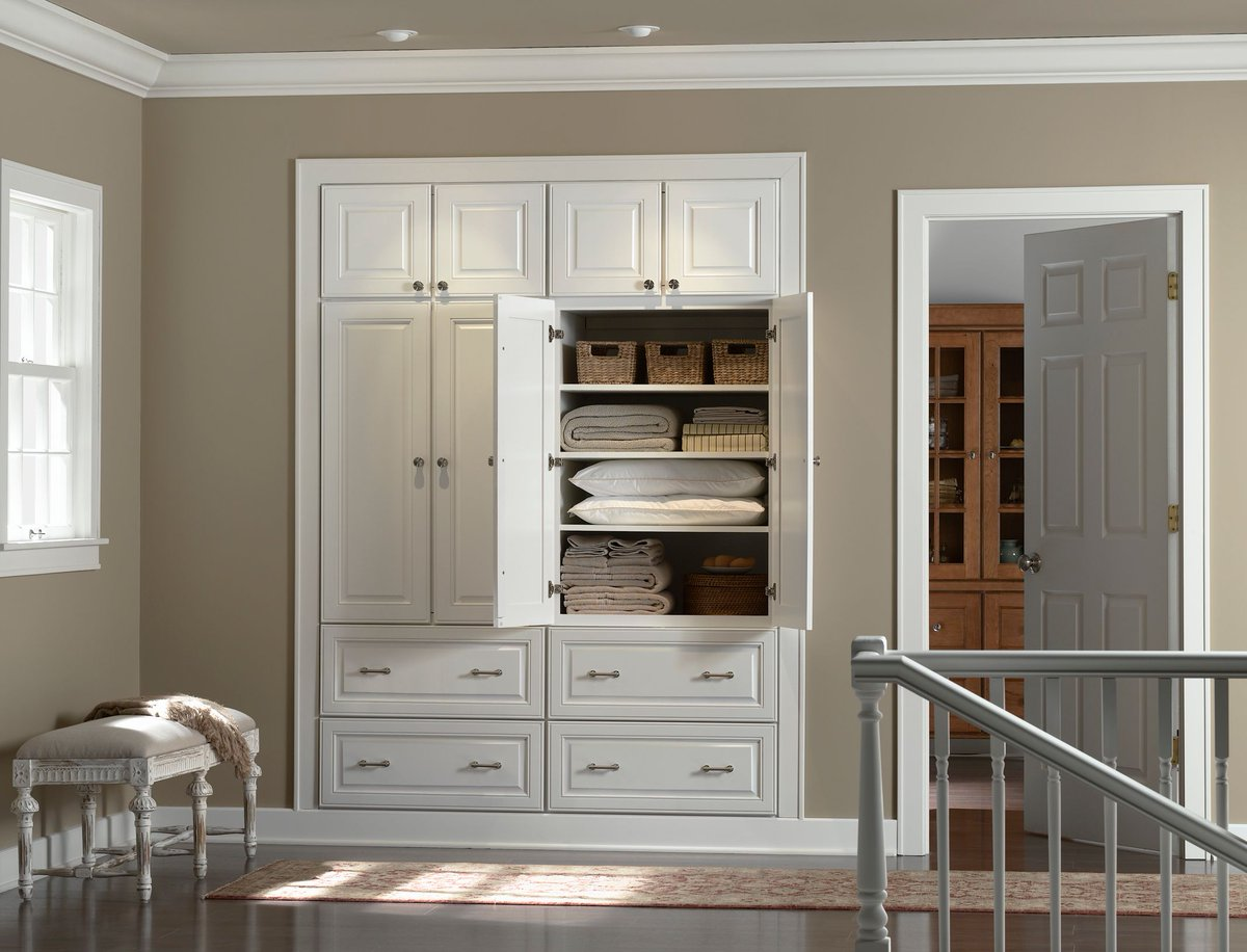 Norcraft Cabinets | Maple Vanity Cabinets | Designer Cabinets