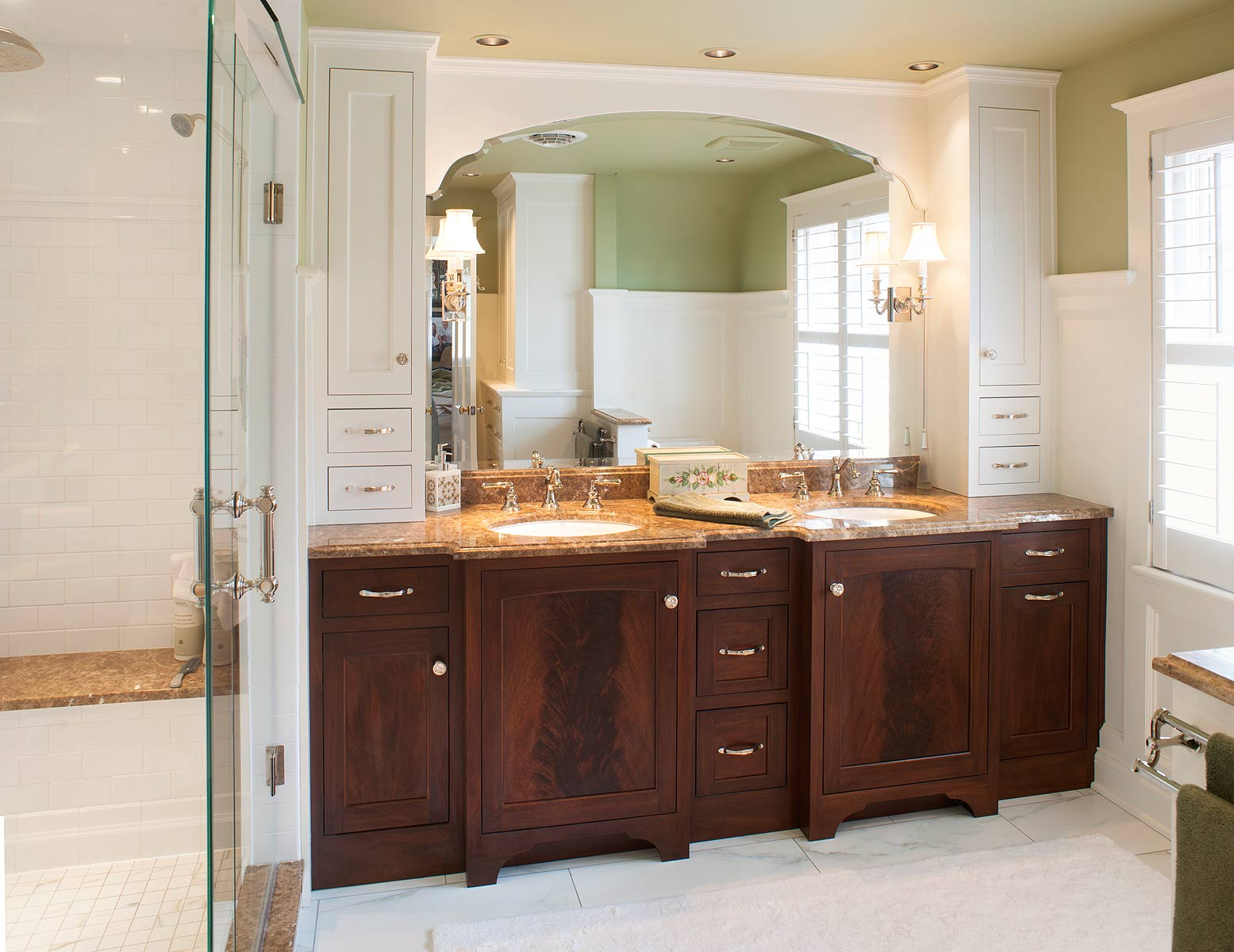 Bathroom Cabinets Minnesota Surface Corian And Inspiration Decorating