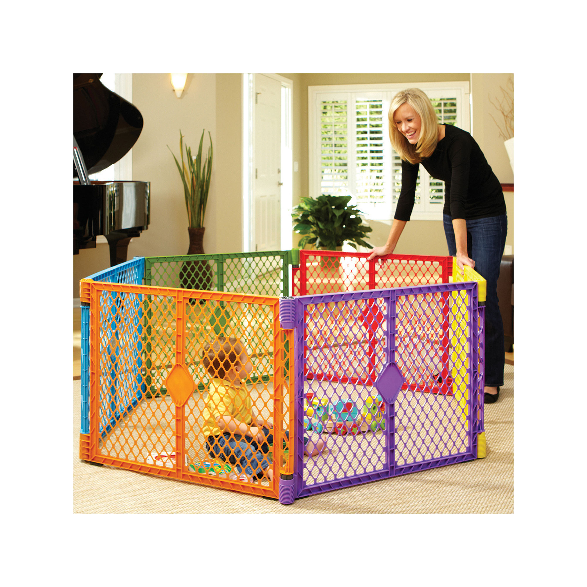 North States Portable Playard | Baby Superyard | North States Superyard