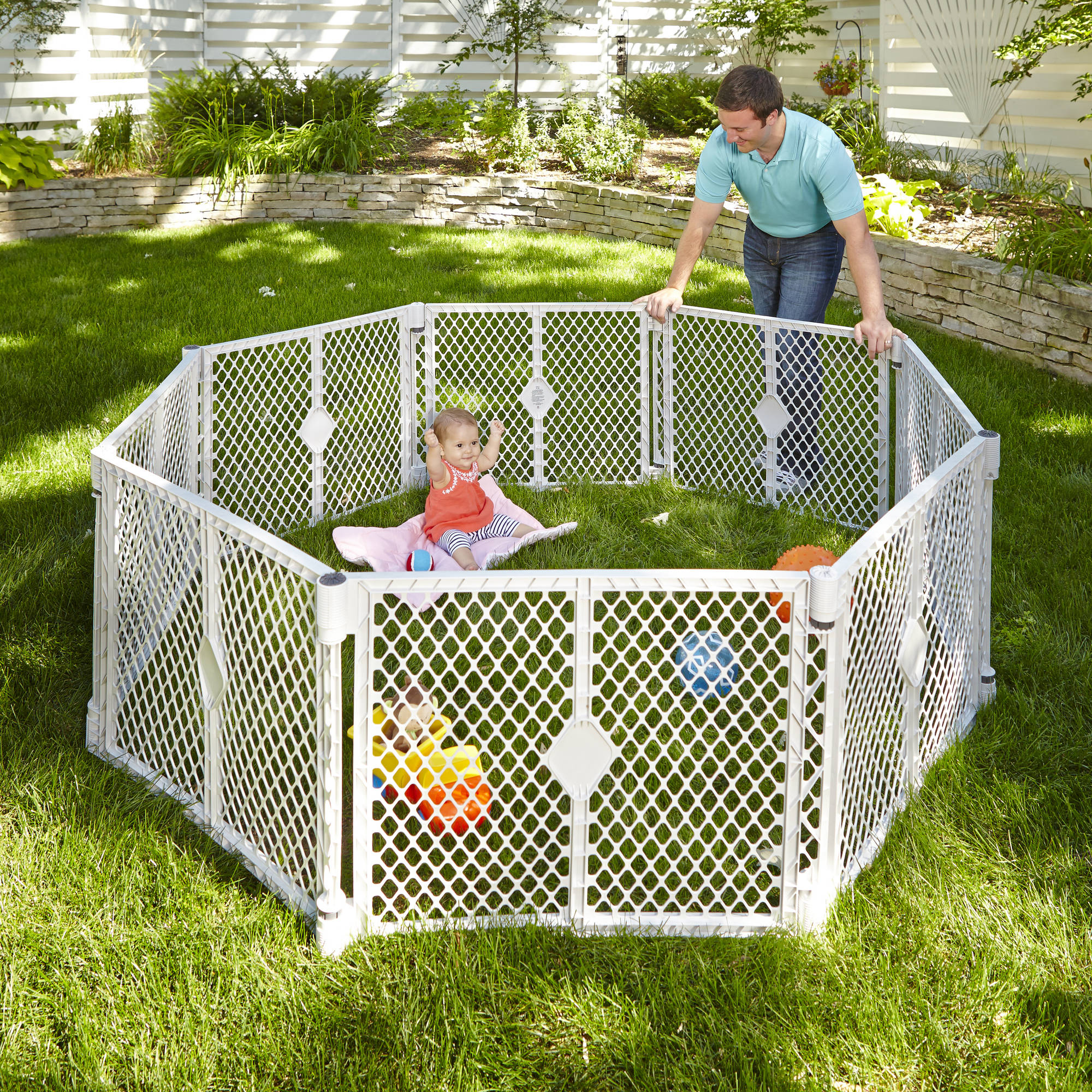 Outdoor Play Yard For Toddlers Outdoor Designs