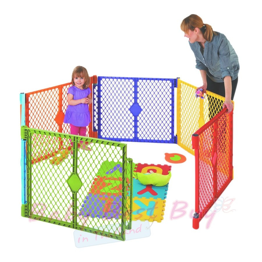 North States Superyard Play Yard 8 Panel | North States Superyard | Expandable Play Yard