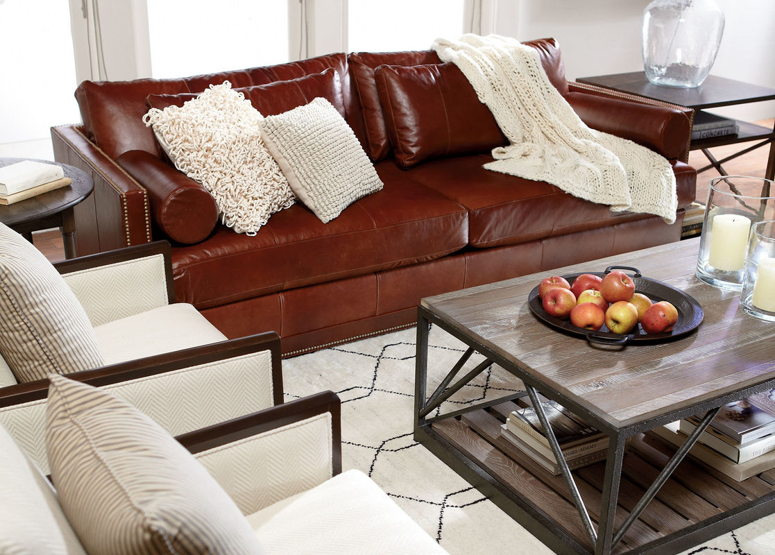 Oversized Leather Sofa | Ethan Allen Recliners | Upholstered Recliners